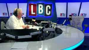 News video: Moment Hither Green Vigilante Calls LBC To Defend Stamping On Tributes