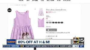News video: H&M offering BIG sale on spring fashion!