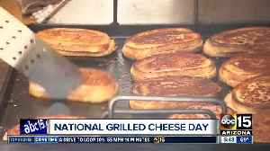 News video: Celebrate 'National Grilled Cheese' Day with $5 sandwiches