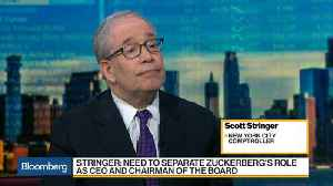 News video: Scott Stringer Says Facebook Has to Act to Restore Shareholder Confidence