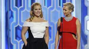 News video: Jennifer Lawrence Made Funny Toast At Amy Schumer's Wedding