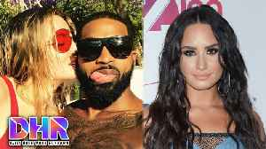 News video: Tristan Thompson PUBLICLY CHEATS on Khloe Kardashian - Demi Lovato SHUTS DOWN Dr