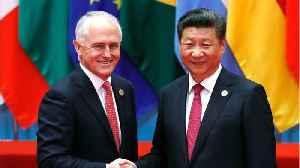 News video: Australia Admits 'Tension' With Beijing Over New Anti-Influence Laws