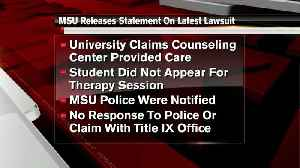 News video: MSU responds to allegations of rape mishandling in federal lawsuit