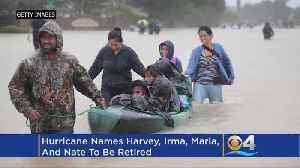 News video: Irma, Maria, Harvey, And Nate Retired As Storm Names