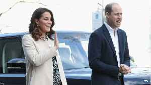 News video: Prince William Drops Hint About Sex Of Third Baby