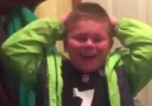 News video: 9-Year-Old Boy is Overjoyed by Invitation to Football Camp From Pittsburgh Steeler's Quarterback