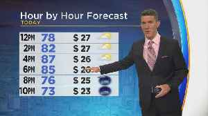News video: Thursday Afternoon Weather Update With Jeff Jamison