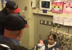 News video: Oklahoma Firefighters Reunite With Premature Twins They Saved at Birth