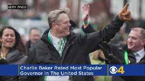 News video: Poll: Charlie Baker Is Once Again America's Most Popular Governor