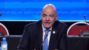 News video: Infantino says interest in expanded Club World Cup