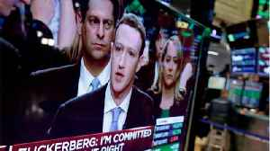 News video: Zuckerberg's Congressional appearance went okay, but some on Wall Street still worries the Cambridge Analytica scandal will hurt