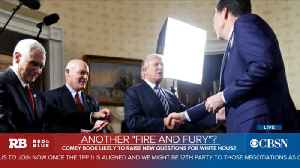 News video: Excerpts from Comey book emerge during already tumultuous stretch for White House