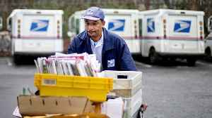 News video: Trumps Creates Task Force To Look Into US Postal Service