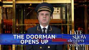 News video: Confessions Of A Trump Tower Doorman