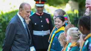 News video: Pic: Prince Philip Returns Home After Hip Replacement
