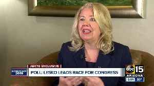 News video: Debbie Lesko leads race for Arizona congressional seat according to new poll