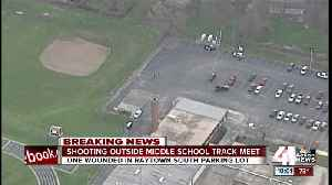News video: One person shot at Raytown South Middle School
