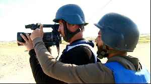 News video: Palestinian journalists fear being targeted during protests