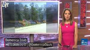 News video: Wildfire Evacuations Ordered in Oklahoma