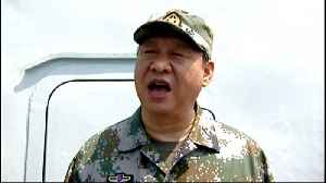 News video: China's navy to hold live-fire exercises in Taiwan Strait