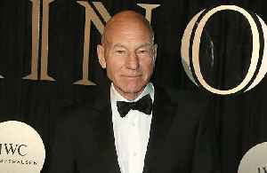 News video: Sir Patrick Stewart reveals father's domestic abuse towards his mother