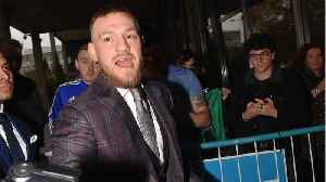 News video: Conor McGregor Posts Family Photo On Instagram After Assault Arrest