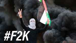 News video: Untangling the twisting narratives of the Gaza protest