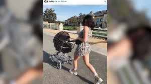 News video: Kylie Jenner Shares Snap of Herself & Stormi Out for a Stroll in Matching Fendi Gear