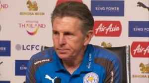 News video: 'Leicester ambitious and fighting for seventh'