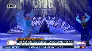 News video: Disney on Ice performs at Germain Arena this weekend - 8am live report