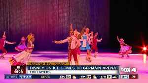 News video: Disney on Ice performs at Germain Arena this weekend - 8:30am live report