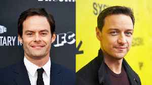 News video: Bill Hader and James McAvoy in Talks for 'It' Sequel
