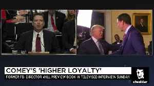 News video: Could Comey's Book Spur White House Shake ups?