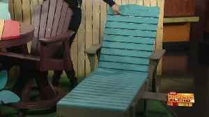 News video: Beautiful and Eco-Friendly Outdoor Furniture