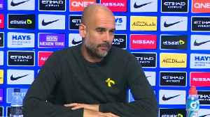News video: Aguero to miss City's trip to Spurs - Guardiola