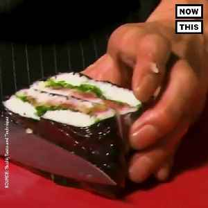 News video: Whole Foods Is Selling Sushi Sandwiches