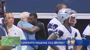 News video: The End Of An Era – Dez Bryant Released By The Dallas Cowboys