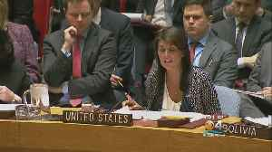 News video: Trump, Allies Mull Syria Strike As UN Security Council Holds Emergency Meeting