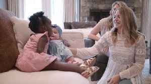 News video: Lauren Akins' Emotional Journey To Motherhood