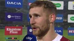 News video: Tomkins: Luck helped with 'sweet' strike