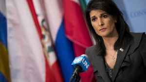 News video: Haley Calls Out Syria, Russia in Suspected Chemical Attack