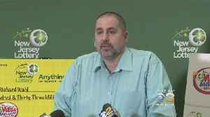 News video: New Jersey Food Production Manager Revealed As $533 Million Jackpot Winner