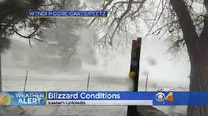 I-70 Closed During Blizzard On Eastern Plains [Video]
