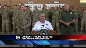News video: Texas Gov. Visits Valley, Says More Troops on Their Way