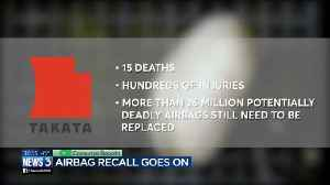 News video: Why are so many deadly, recalled airbags still on the road?