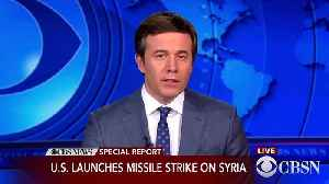 News video: 'Mission Accomplished': Trump Says Attack On Syria Was 'Perfectly Executed'
