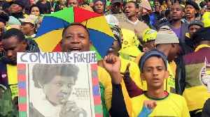 News video: Thousands gather for Winnie Madikizela-Mandela's funeral