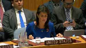 News video: U.S. 'locked and loaded' if Syria uses toxic gas again: Haley