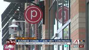 News video: Scammers threatened to cut business's lights without payment